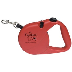 Retractable Pet Leash Imprinted with Your Logo