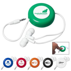 Retractable Push Button Ear Buds