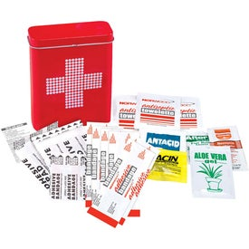 Logo Retro First Aid Tin