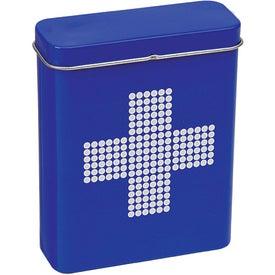 Printed Retro First Aid Tin