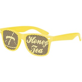Retro Specs Printed with Your Logo