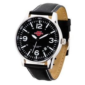 Polished Silver Retro Styles Unisex Watch