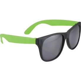 Imprinted Retro Sunglasses