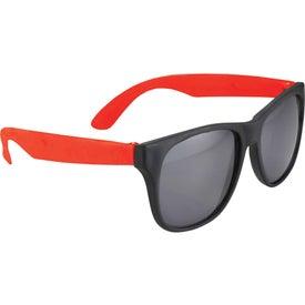 Printed Retro Sunglasses
