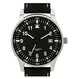 Retro Styles Genuine Leather Unisex Watch Printed with Your Logo