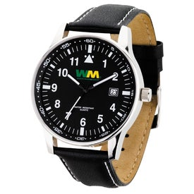 Retro Styles Genuine Leather Unisex Watch