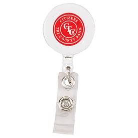 Retractable Badge Holder with Your Logo