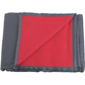 Logo Reversible Fleece / Nylon Blanket with Carry Case