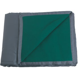 Reversible Fleece / Nylon Blanket with Carry Case