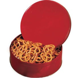"Reward Tin (7 1/4"", Pretzels)"