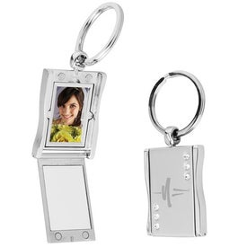 Rhinestone Photo Keytag for Your Church