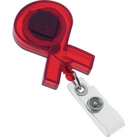 Ribbon Badge Holder Printed with Your Logo