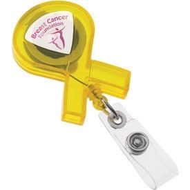 Ribbon Badge Holder for Marketing