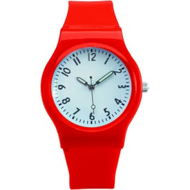 Printed Right On Time Watch