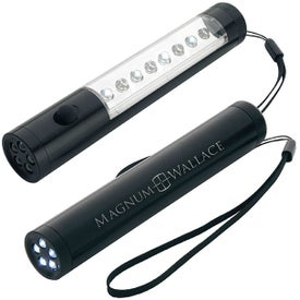 Roadside Safety Flashlights with Your Slogan