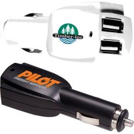 Rocket Dual USB Car Charger