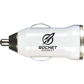 Rocket USB Charger Imprinted with Your Logo