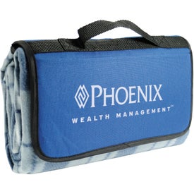 Roll-Up Picnic Blanket with Your Logo