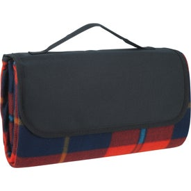 Personalized Roll-Up Picnic Blanket