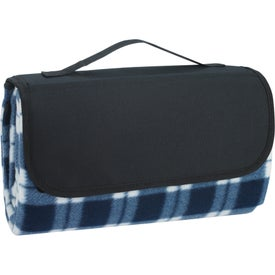 Printed Roll-Up Picnic Blanket