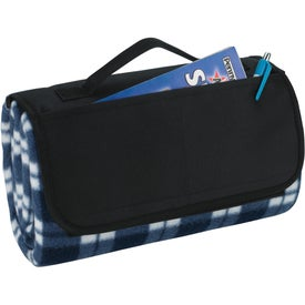 Customized Roll-Up Picnic Blanket