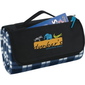 Roll-Up Picnic Blanket for Advertising