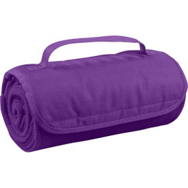 Roll-up Blanket Imprinted with Your Logo