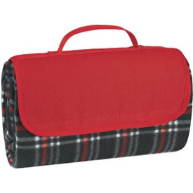 Company Roll-up Picnic Blanket
