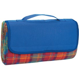 Roll-up Picnic Blanket Branded with Your Logo