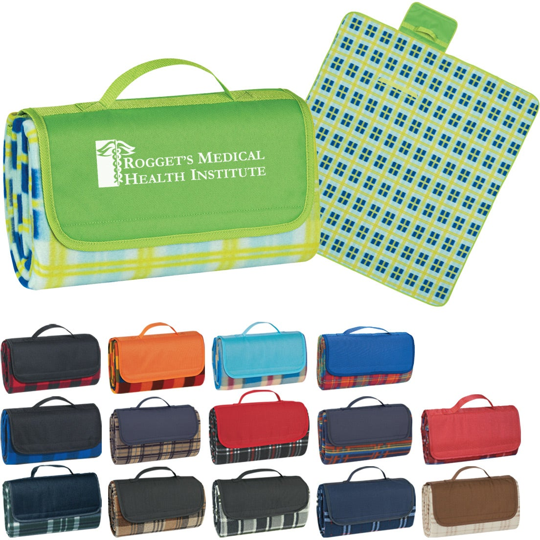 """Roll-up Picnic Blanket (52"""" x 47"""")"""