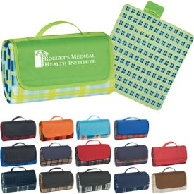 "Roll-up Picnic Blanket (52"" x 47"")"
