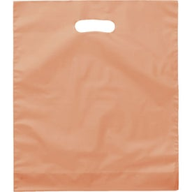 Rose Frosted Bright Plastic Bag for your School