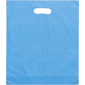 Rose Frosted Bright Plastic Bag Branded with Your Logo