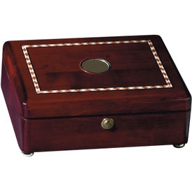 Rosewood Inlaid Box with Your Logo