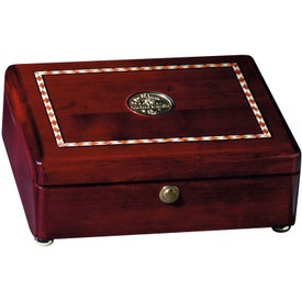 Rosewood Inlaid Box