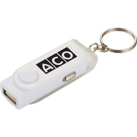 Rotate Car Charger with Your Slogan