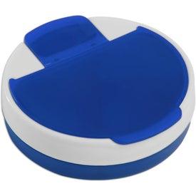 Monogrammed Rotating Pill Organizer