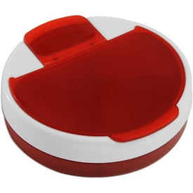 Rotating Pill Organizer Branded with Your Logo