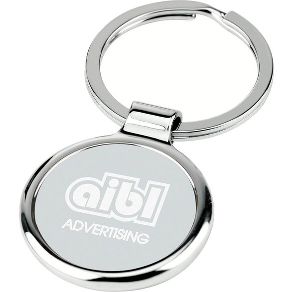 Silver Round-About Key Tag