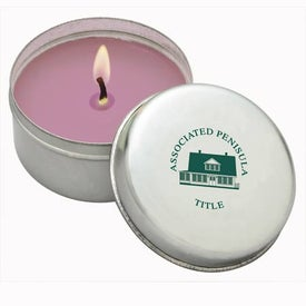 Round Aromatherapy Candle