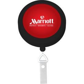 Branded Round Badge Reel