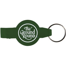 Personalized Round Beverage Wrench