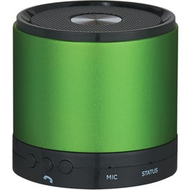 Round Bluetooth Speaker Imprinted with Your Logo