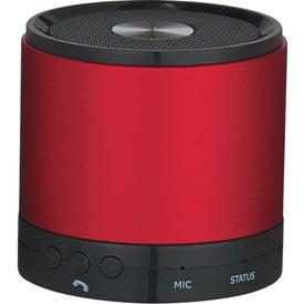 Round Bluetooth Speaker for Marketing