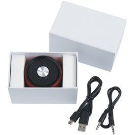 Customized Round Bluetooth Speaker