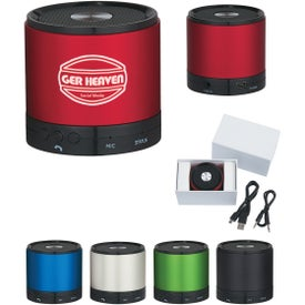 Round Bluetooth Speakers (300 mAh)