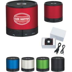 Round Bluetooth Speaker for Advertising