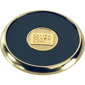 Round Brass Coaster Weight Coasters Giveaways