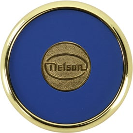 Round Brass Coaster Weight Coasters for Your Organization
