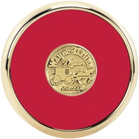 Round Brass Coaster Weight Coasters for Promotion